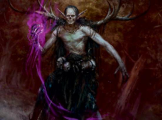 Elvish Dreadlord (Extended Art)