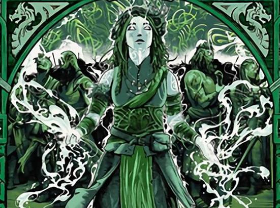 Esika, God of the Tree (Showcase)