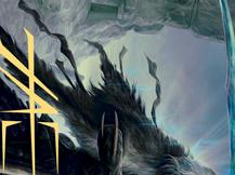 Egon, God of Death Art Card (Gold-Stamped Signature)