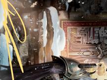 Narfi, Betrayer King Art Card (Gold-Stamped Signature)