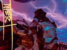 Toralf, God of Fury Art Card (Gold-Stamped Signature)