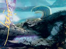 Valki, God of Lies Art Card (Gold-Stamped Signature)