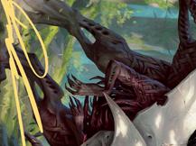 Vorinclex, Monstrous Raider 1 Art Card (Gold-Stamped Signature)