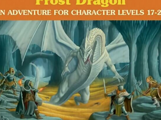 Cave of the Frost Dragon (Dungeon Module)