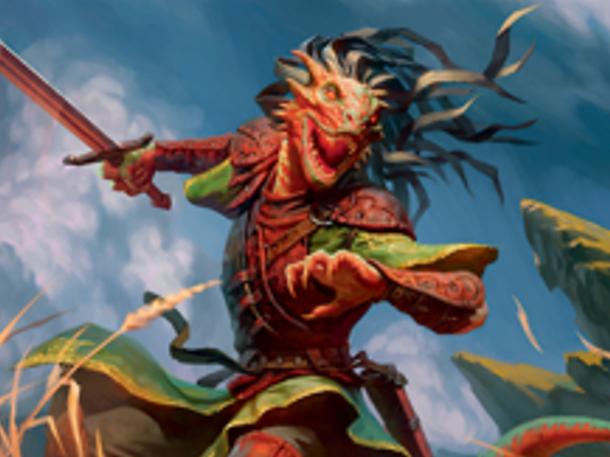 Dragonborn Champion (Extended Art)