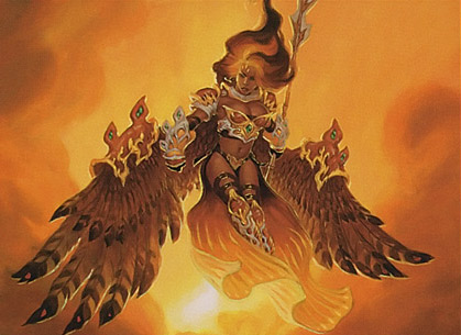 Akroma, Angel of Fury card image from Planar Chaos