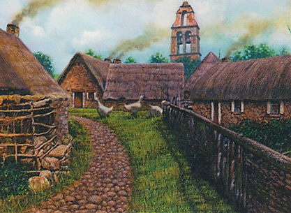 Rustic Clachan card image from Morningtide