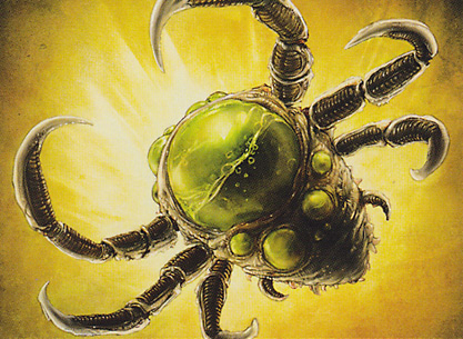 Contagion Clasp card image from Scars of Mirrodin