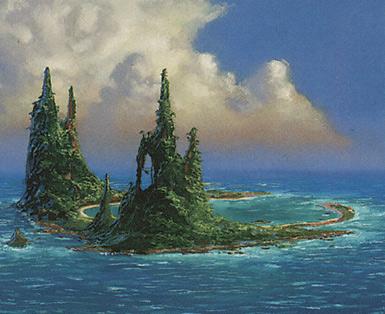 Island (Spires Left)