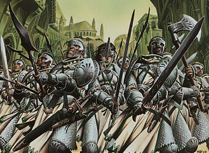 Conclave Phalanx card image from Ravnica: City of Guilds