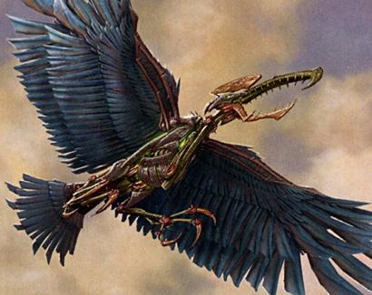 Clockwork Condor card image from Mirrodin