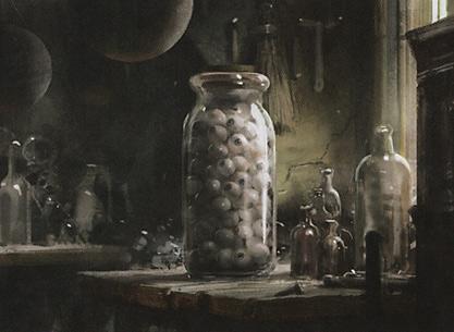 Jar of Eyeballs