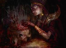 Grim Haruspex card image from Khans of Tarkir