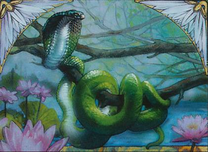 MTG *FOIL* Lotus Cobra MTG Grand Prix promo card
