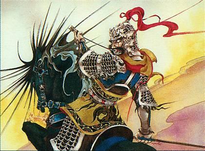 Xiahou Dun, the One-Eyed