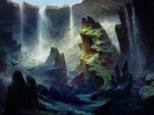 Sunken Hollow card image from Battle for Zendikar