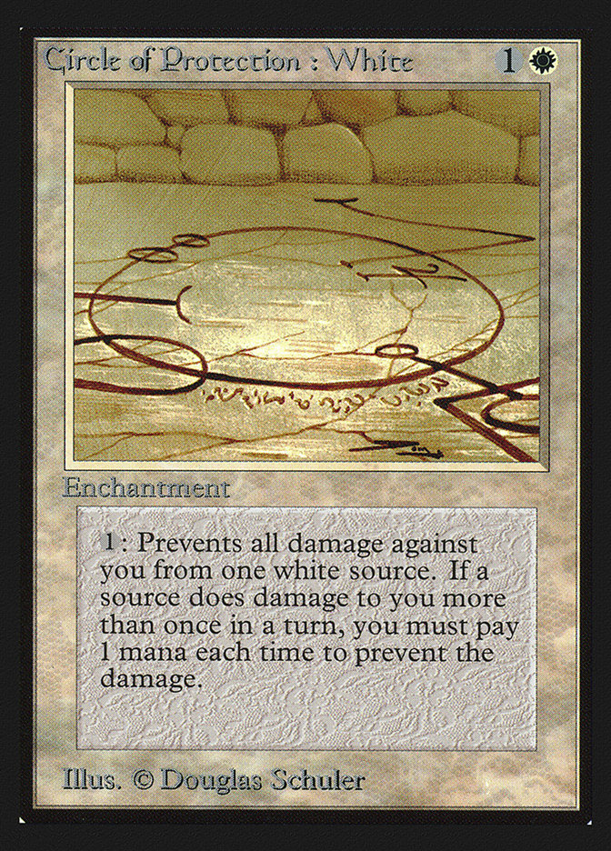 Circle of Protection: White (CE)