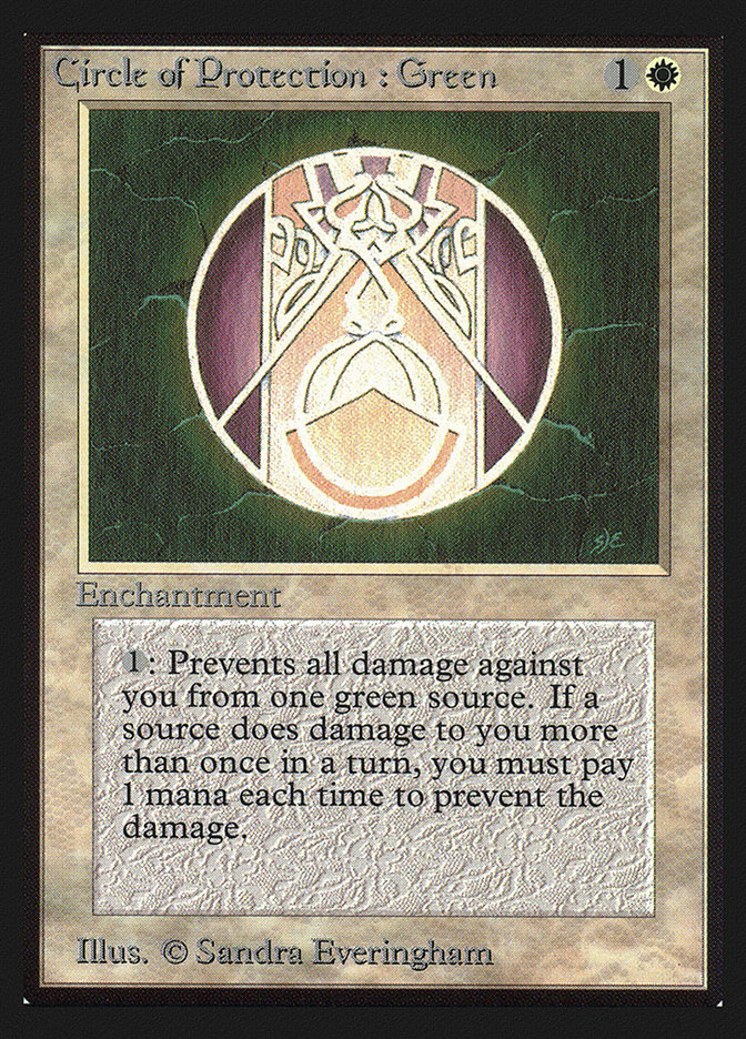 Circle of Protection: Green (CE)