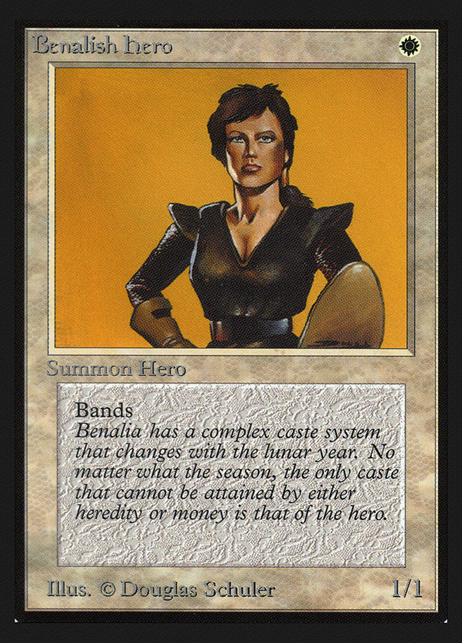 Benalish Hero (CE)