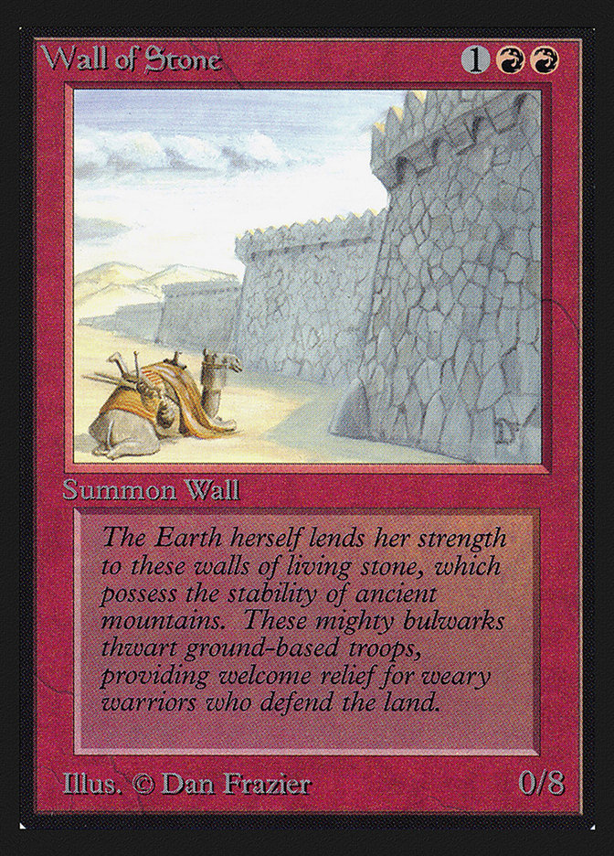 Wall of Stone (CE)
