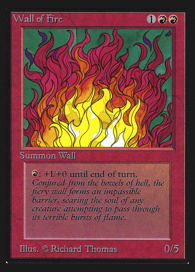Wall of Fire (CE)