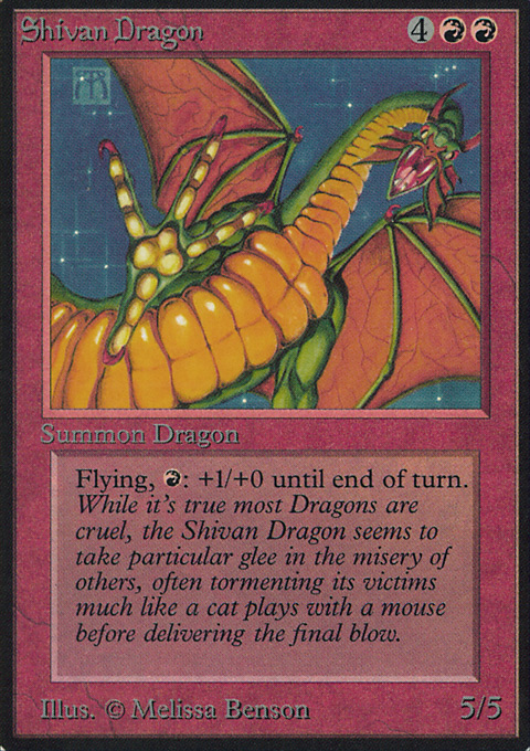 Shivan Dragon (CE)