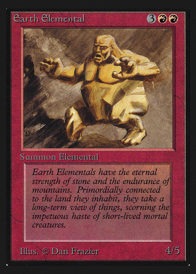 Earth Elemental (CE)