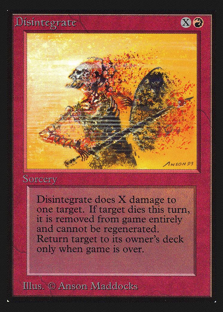 Disintegrate (CE)