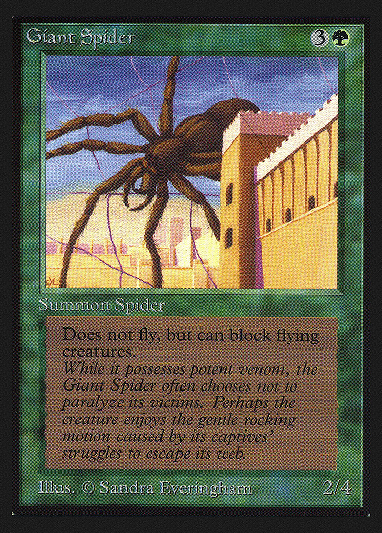 Giant Spider (CE)