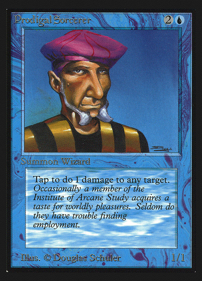 Prodigal Sorcerer (CE)
