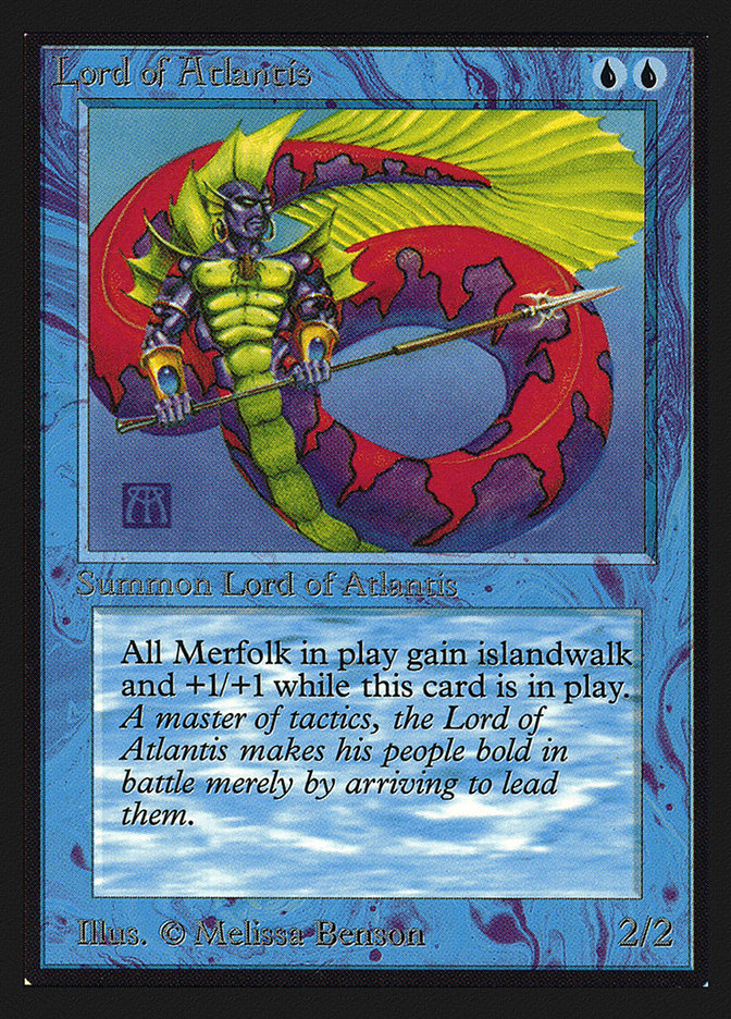 Lord of Atlantis (CE) card from Collector's Edition