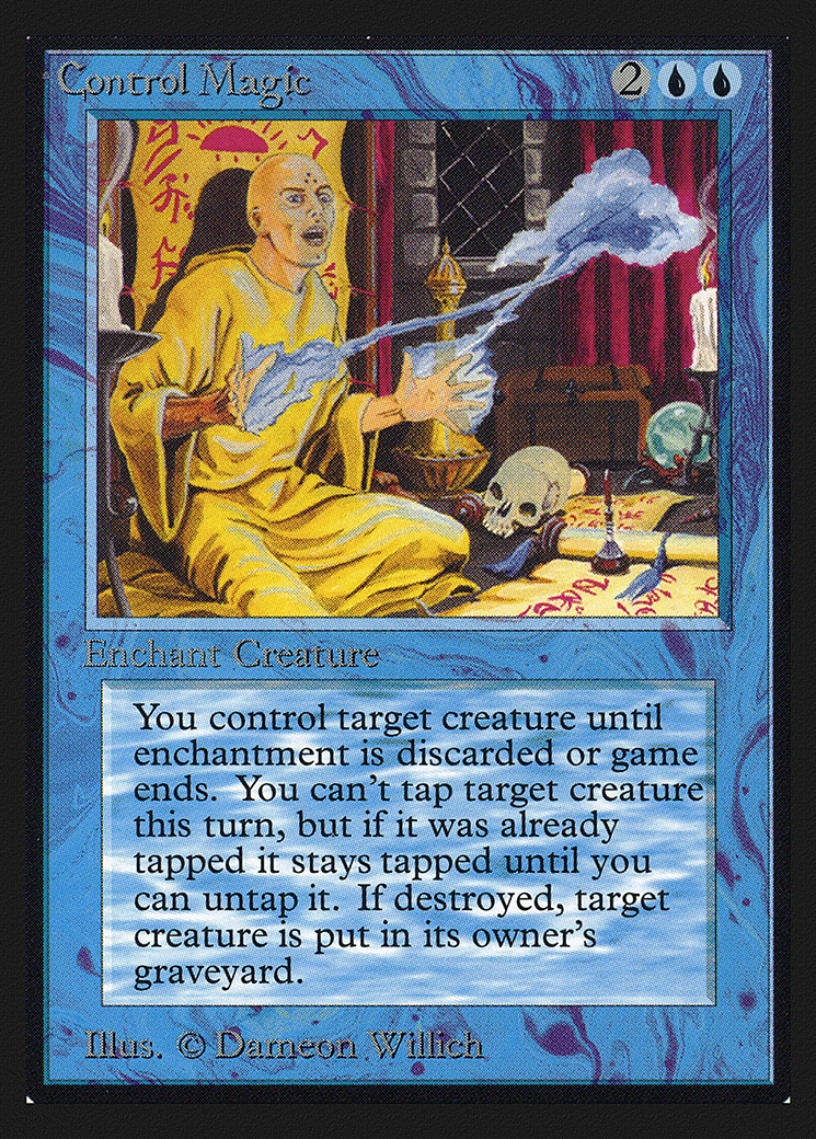 Control Magic (CE) card from Collector's Edition