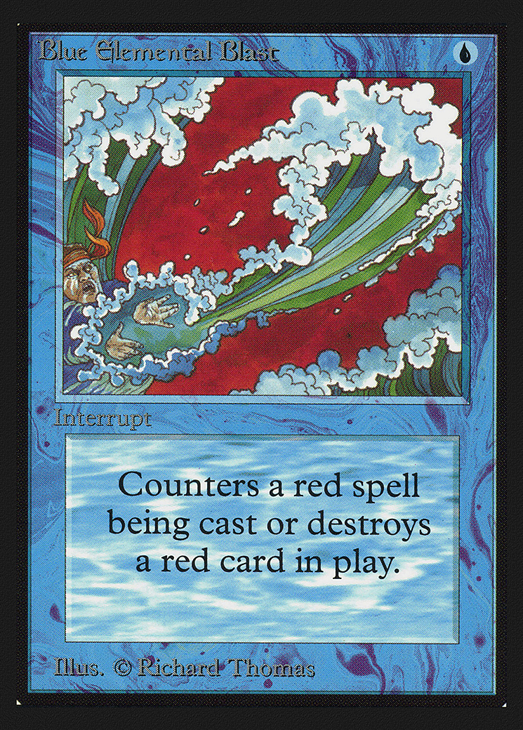 Blue Elemental Blast (CE)