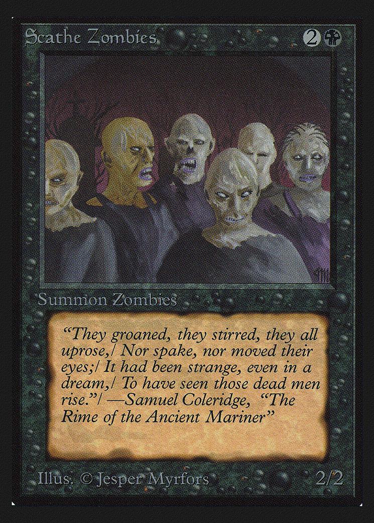 Scathe Zombies (CE)