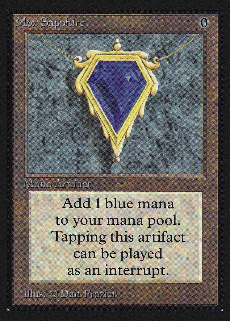 Mox Sapphire (CE)