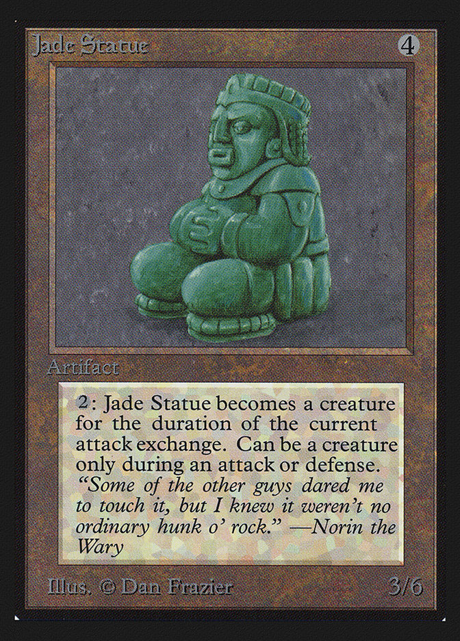 Jade Statue (CE)