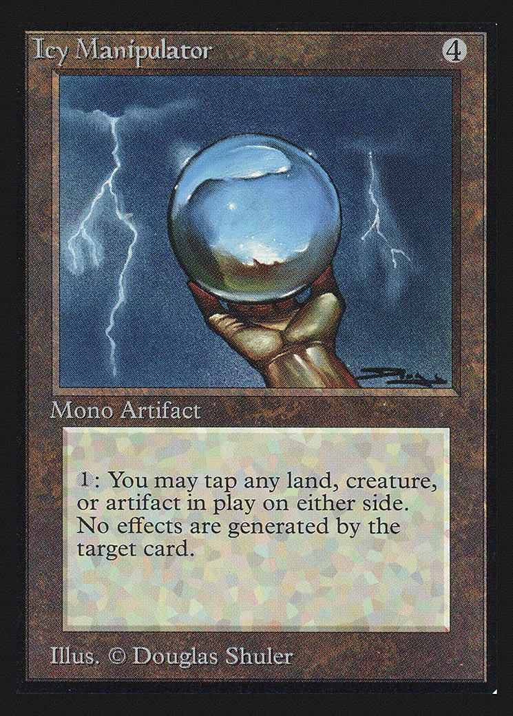 Icy Manipulator (CE)