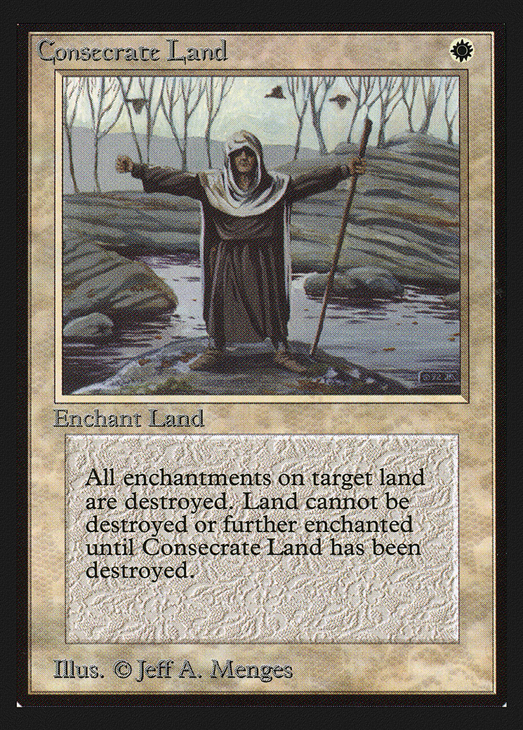 Consecrate Land (IE)