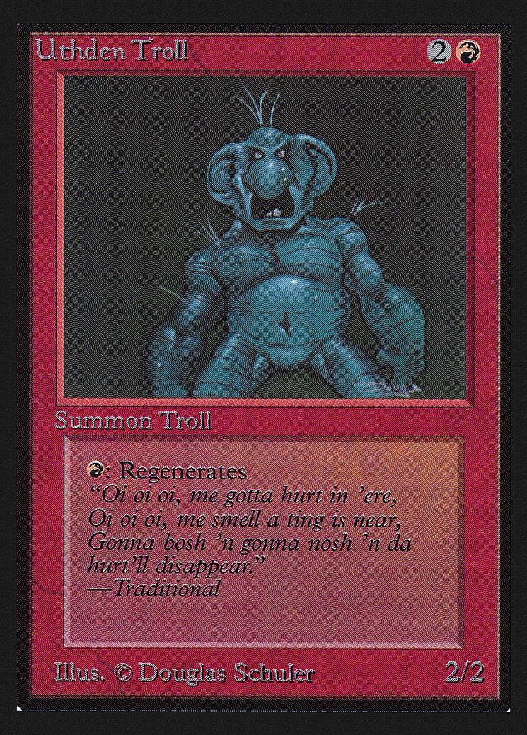Uthden Troll (IE) card from International Edition