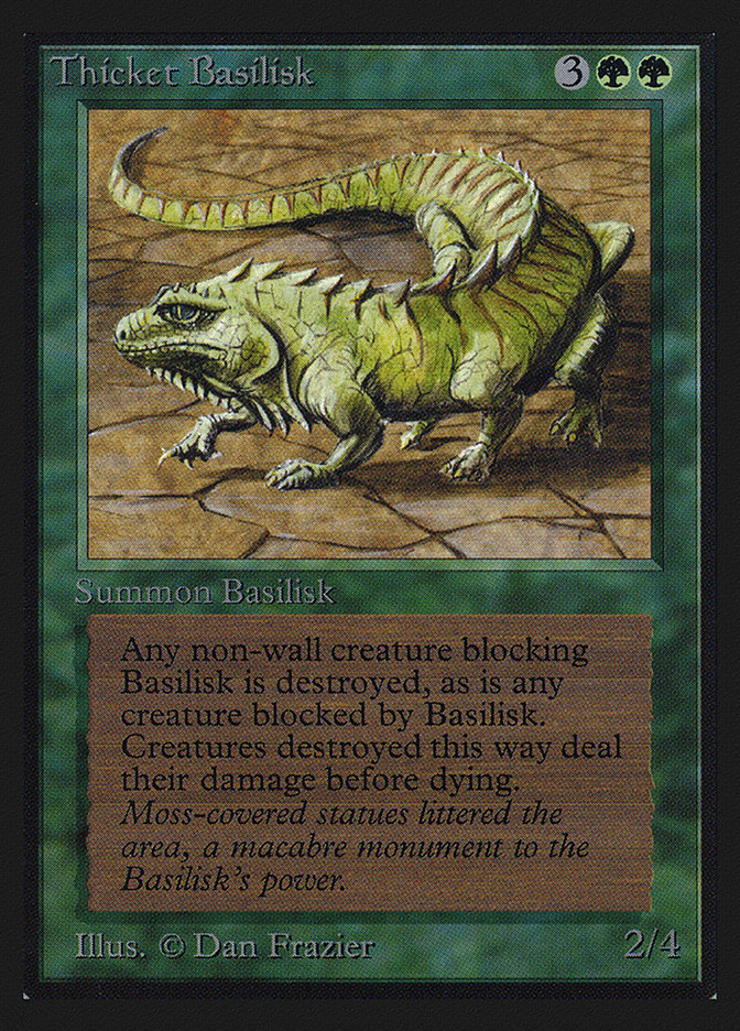 Thicket Basilisk (IE)