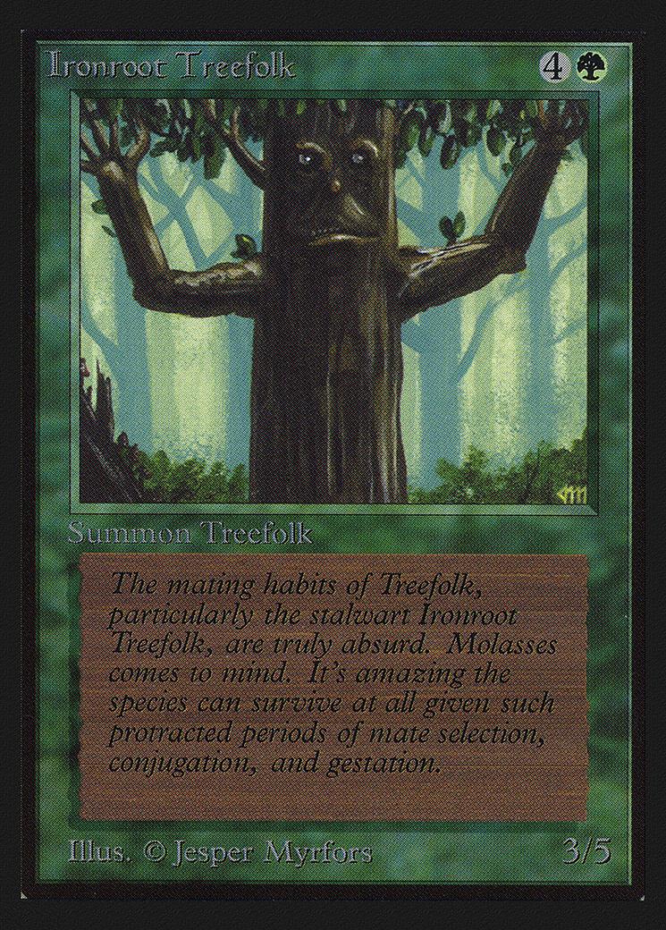Ironroot Treefolk (IE)