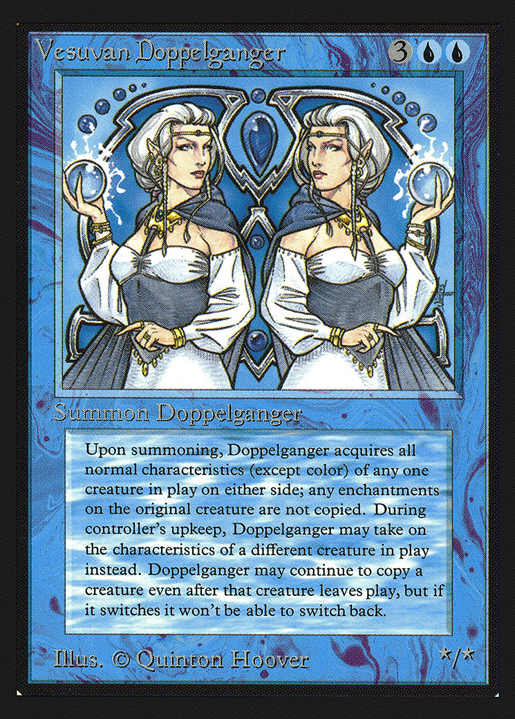 Vesuvan Doppelganger (IE)