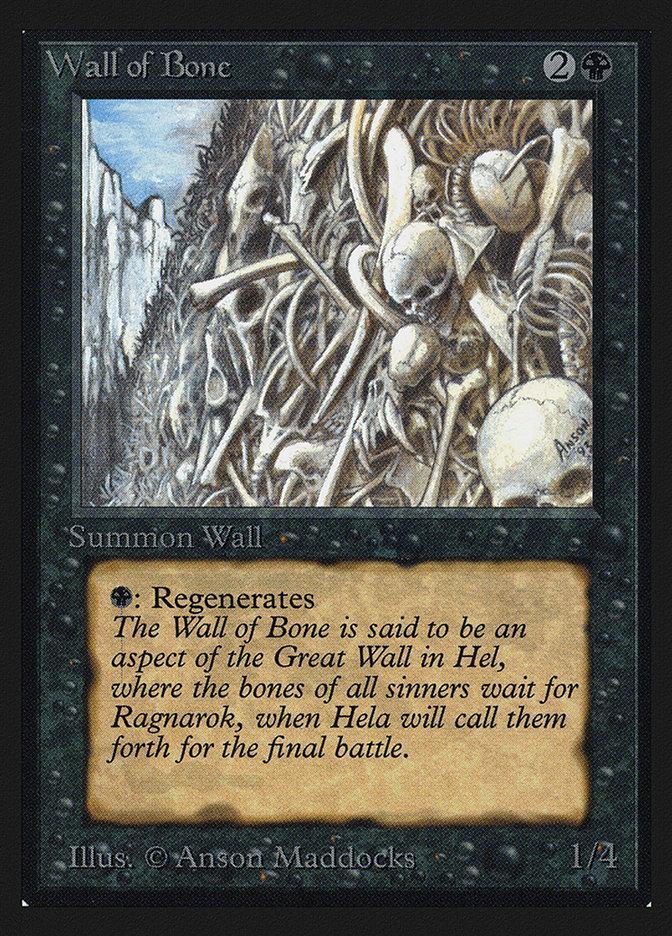 Wall of Bone (IE)