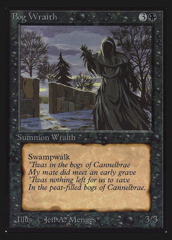 Bog Wraith (IE) card from International Edition