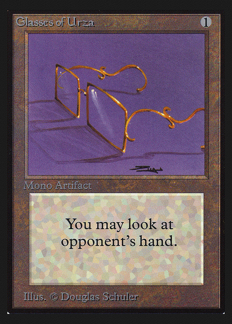Glasses of Urza (IE)