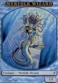 Merfolk Wizard Token