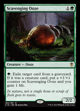 Scavenging Ooze original card image