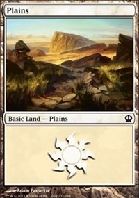 Plains (232) card from Theros