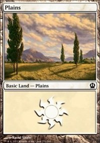 Plains (233) card from Theros