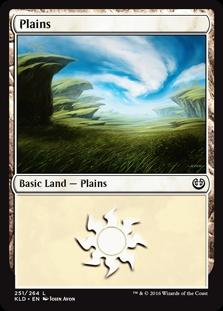 Plains (251) card from Kaladesh